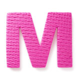Letter M Royalty Free Stock Image