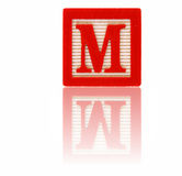 Letter m Royalty Free Stock Photos