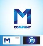 Letter M logo royalty free illustration
