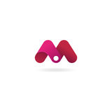 Letter M logo. Vector icon design template. Letter M logo icon. Vector design template for your company Stock Images