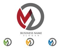 Letter M vector icons such logos template. App vector illustration