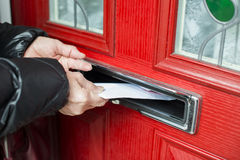 Letter in the mailbox Royalty Free Stock Photos
