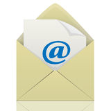 Letter-Message. Letter- Message- Email-Mailbox-Icon-Internet icon-Web icon-Illustration-Business Stock Photos