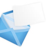 Letter with message Royalty Free Stock Photo