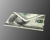 Letter Moh dollar bill Royalty Free Stock Photography