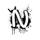 Letter N Stock Photography