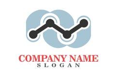 Letter N connection finger logo. Dsign vector dsign vector dsign abstract vector dsign concept Stock Images