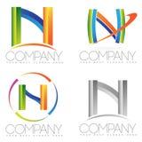 Letter N logo Royalty Free Stock Image