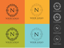 Letter N Logo Royalty Free Stock Photography