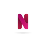 Letter N logo. Vector icon design template. Color sign. Letter N logo icon. Vector design template for your company Royalty Free Stock Photos