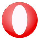 Letter O Stock Photography