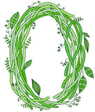 Letter O. Ecology Stock Photography
