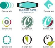 Letter O Logo. Alphabetical Logo Design Concepts. Letter O Royalty Free Stock Photos