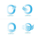 Letter O logo Royalty Free Stock Image