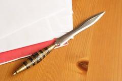 Letter opener Stock Image