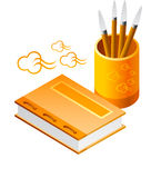Letter Opener Writing Book Stock Photography