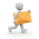Letter orange Royalty Free Stock Images