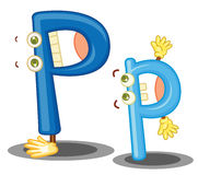 The letter P Stock Photography