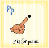 Letter P Stock Image