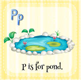 Letter P Stock Photography