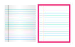 Letter pad. Illustration of letter pad on white background Stock Image