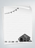 Letter pad Royalty Free Stock Photo