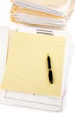 Letter paper Royalty Free Stock Image