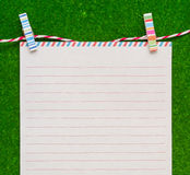 Letter paper Royalty Free Stock Photos