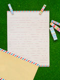 Letter paper Royalty Free Stock Images