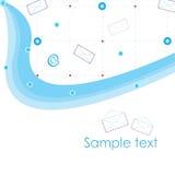 Letter_pattern_company Fotografia de Stock