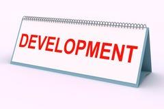 Letter plate (Development) Stock Image