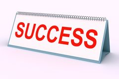 Letter plate (Success) Stock Images
