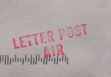 Letter post air Stock Photos