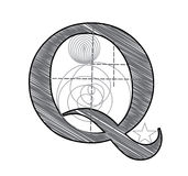 Letter Q Royalty Free Stock Images