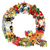 Letter Q, for Christmas decoration Royalty Free Stock Photography