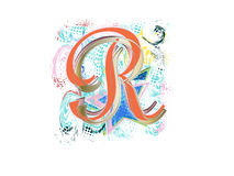 Letter R Stock Photography