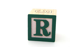 Letter r Royalty Free Stock Photo