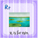 Letter R Royalty Free Stock Photography