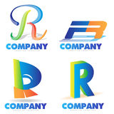 Letter R logo Royalty Free Stock Photos
