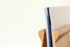 Letter rack Royalty Free Stock Images