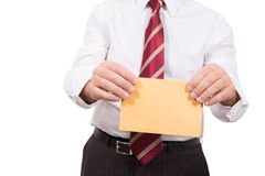 Letter of recommendation Stock Images