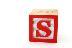 Letter s Stock Photography