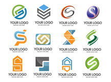Letter S logo company Royalty Free Stock Images