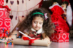 Letter for santa Stock Photos