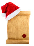 Letter for Santa Stock Photography