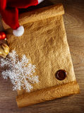 Letter for Santa Royalty Free Stock Photo