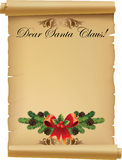 Letter for Santa Claus Royalty Free Stock Photos
