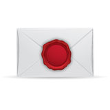 Letter with seal Stock Photos