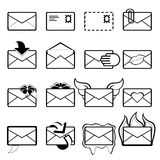 Letter set Royalty Free Stock Photo