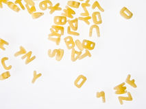 Letter soup Royalty Free Stock Image